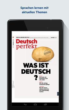Deutsch perfekt स्क्रीनशॉट 1