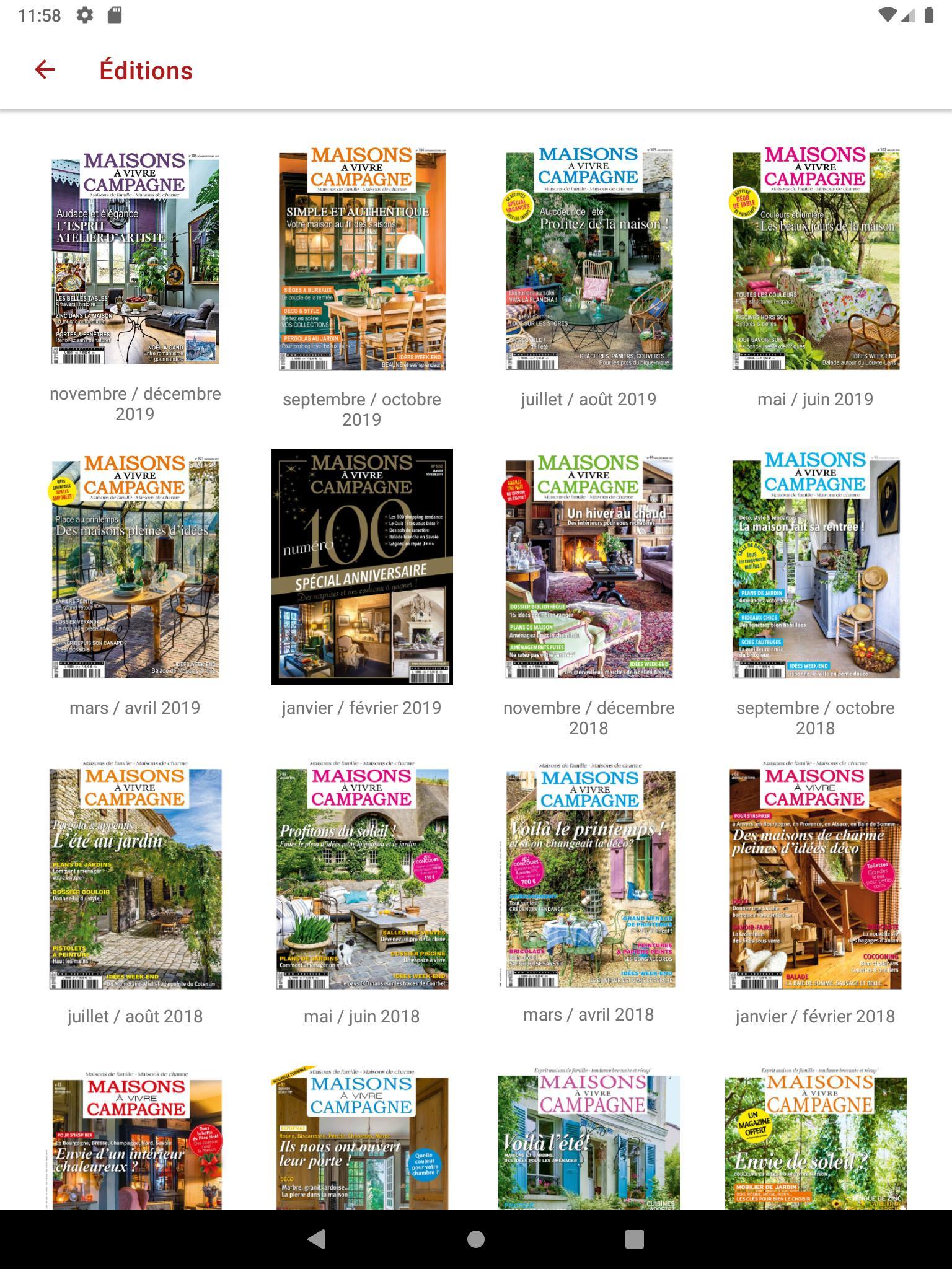 Maison A Vivre Campagne maisons à vivre campagne mag for android - apk download