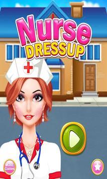 Virtual Nurse DressUp: Princess Dress Up poster