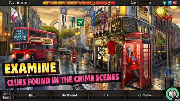 Criminal Case: Save the World! screenshot 1