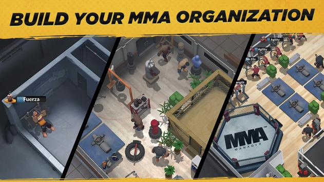 MMA Manager Poster