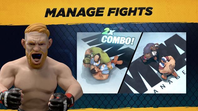 MMA Manager captura de pantalla 14