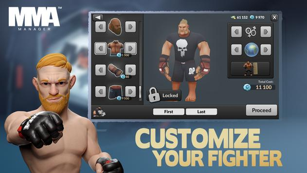 MMA Manager screenshot 17