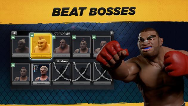 MMA Manager captura de pantalla 11