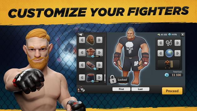 MMA Manager captura de pantalla 13