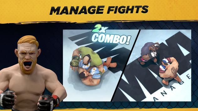 MMA Manager captura de pantalla 2