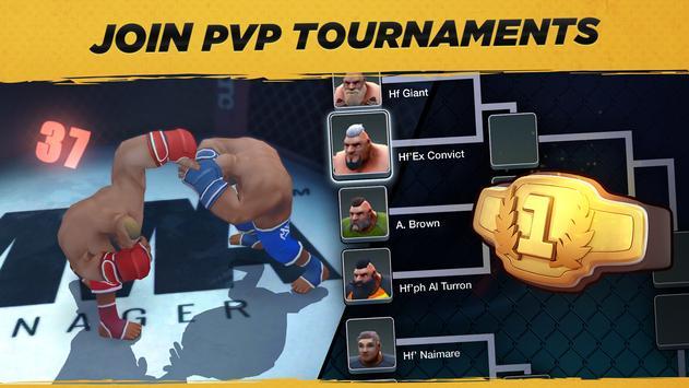 MMA Manager captura de pantalla 3
