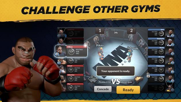 MMA Manager captura de pantalla 4