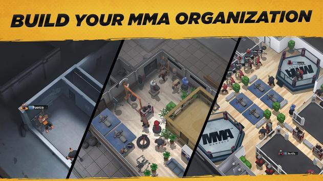MMA Manager captura de pantalla 6