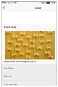 Picture Food Quiz screenshot 5