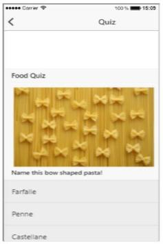 Picture Food Quiz screenshot 1