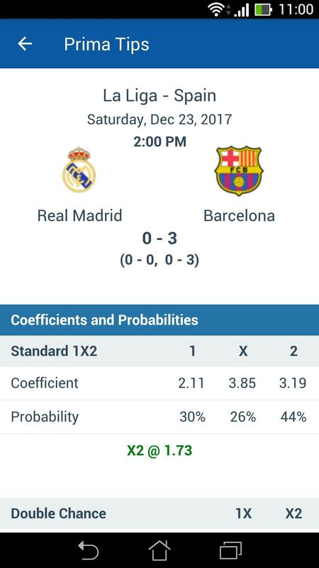 best soccer prediction app for android