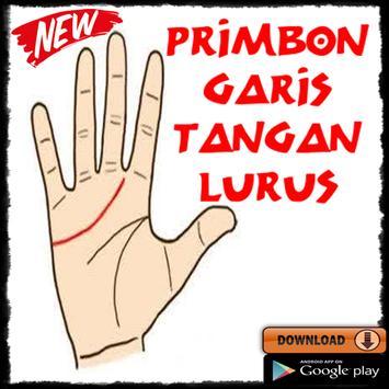 Primbon Garis Tangan Lurus poster