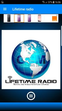 Lifetime radio poster