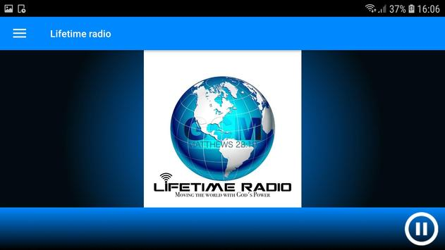 Lifetime radio screenshot 2