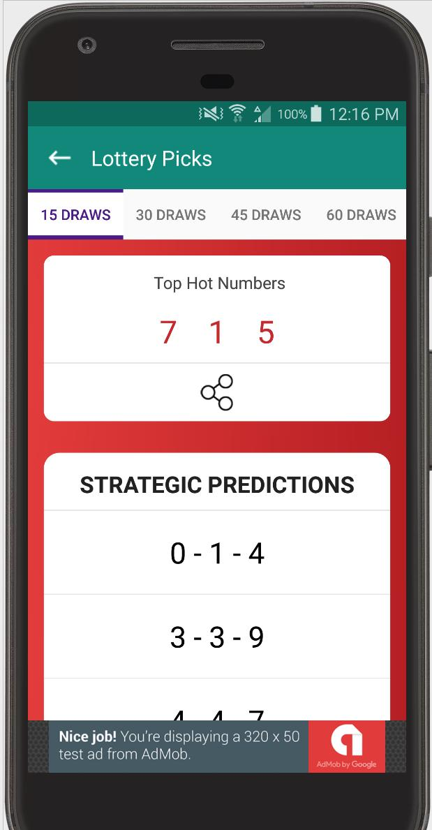 Lottery Ticket Scanner - Lotto Results Checker for Android