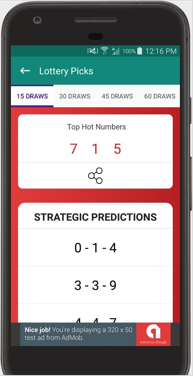 Pick 4 Lottery Generator & Prediction App for Android - APK Download