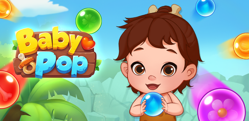 Baby Pop - Primitive Bubble Shooter & Dress up APK