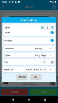 PrinterOn screenshot 2