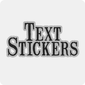 Text Stickers icon