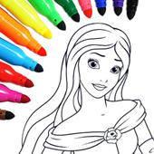 Princess Coloring icon