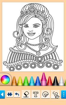 Princess Coloring Game screenshot 5