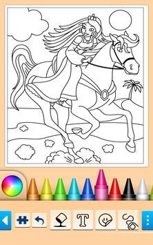 Princess Coloring Game screenshot 6