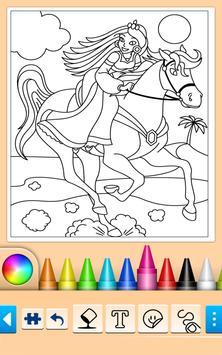 Princess Coloring Game screenshot 11