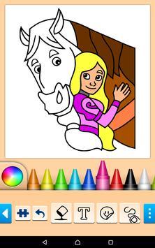 Princess Coloring Game screenshot 2
