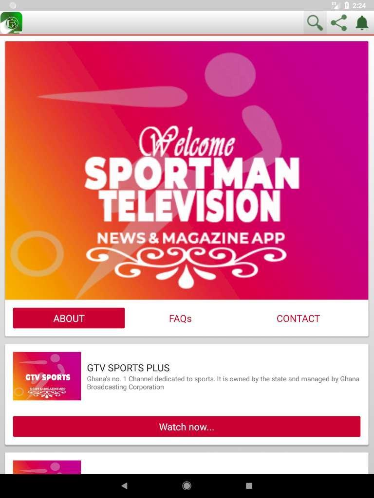 Sportman TV | Sports News and Magazine Live TV for Android