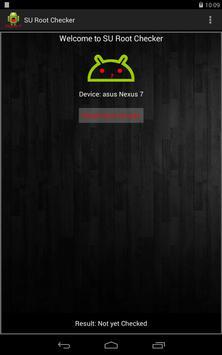 SU Root Checker تصوير الشاشة 5