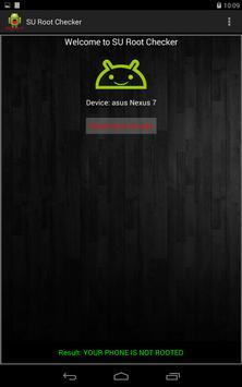 SU Root Checker تصوير الشاشة 6