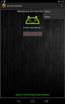 SU Root Checker تصوير الشاشة 7