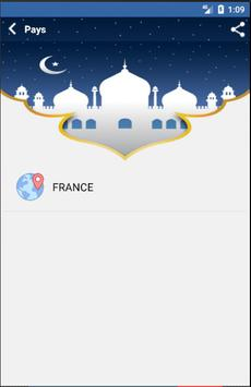 Les Horaires de Prière screenshot 1