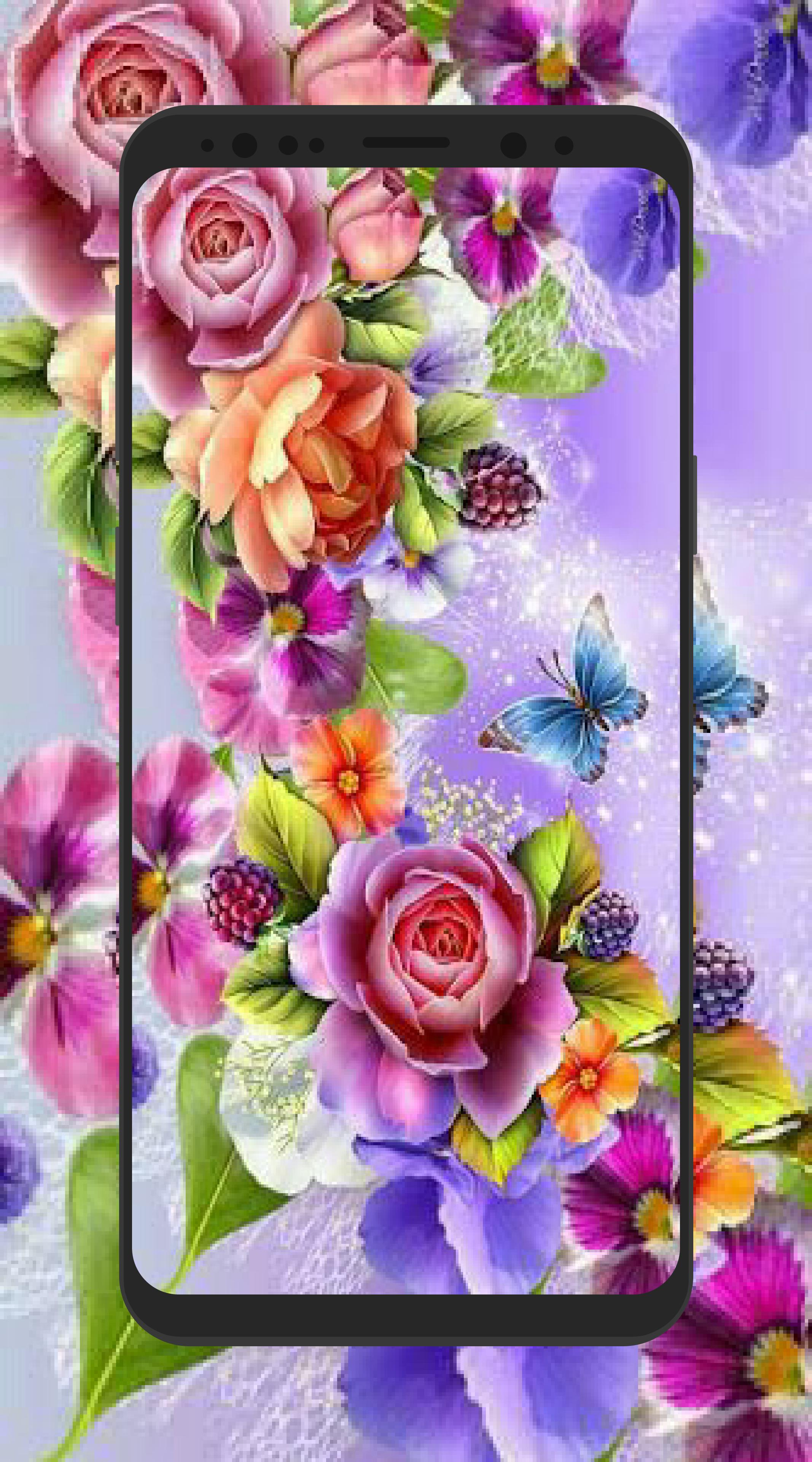 Hd 3d Flower Wallpapers 4k Background For Android Apk Download