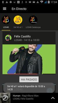 LOS40 Radio poster