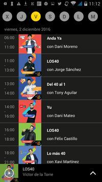 LOS40 Radio screenshot 3