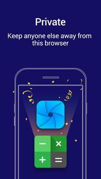 Private Browser Affiche