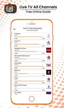 Live TV All Channels Free Online Guide screenshot 3