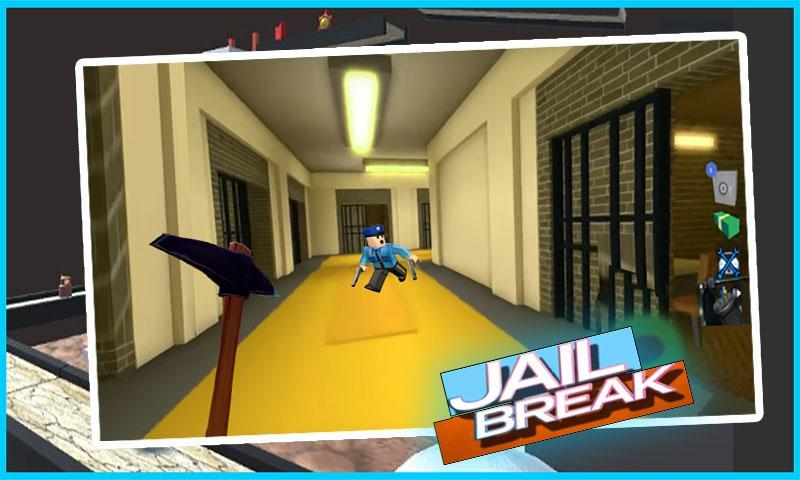 Escape Prison Obby In Roblox Escape Prison For Jail Break Obby Mod For Android Apk Download