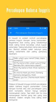 Belajar Bahasa Inggris Offline screenshot 7