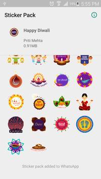 Diwali Sticker Pack for Whatsapp screenshot 2