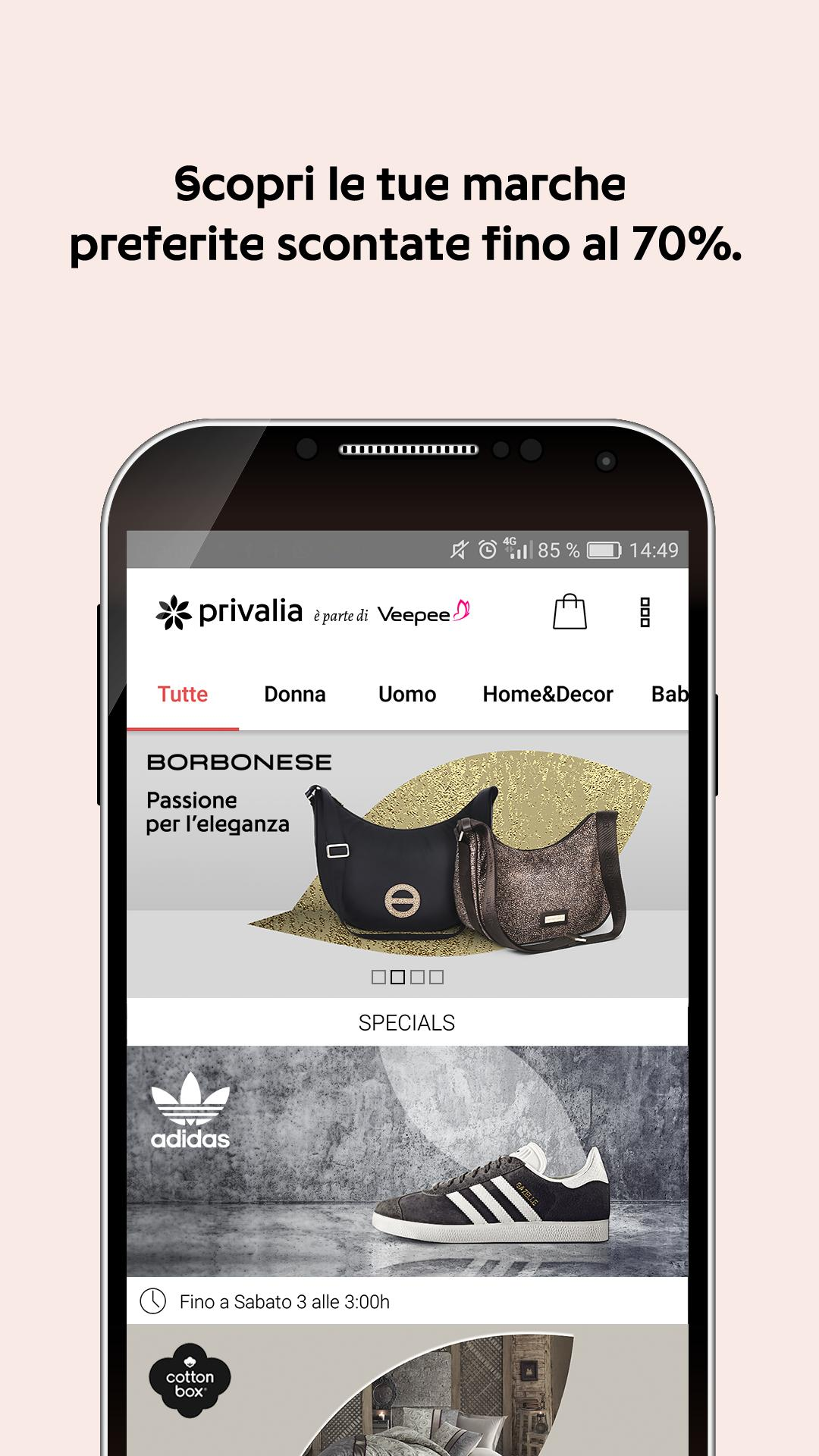l'ultimo 4f6a9 5469c Privalia for Android - APK Download