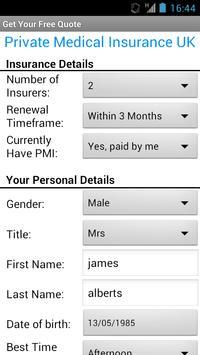 Private Medical Insurance UK screenshot 8