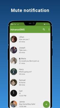 3 Schermata Advance SMS