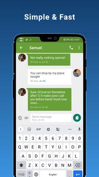 7 Schermata Advance SMS