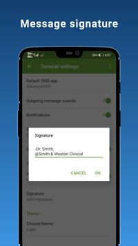 4 Schermata Advance SMS