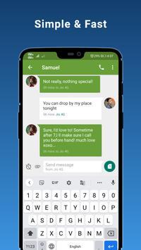 6 Schermata Advance SMS