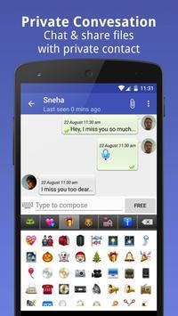 Private Message Box : Hide SMS screenshot 1