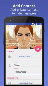 Private Message Box : Hide SMS screenshot 4